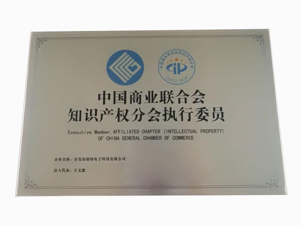 中国商业联合会知识产权分会执行会员