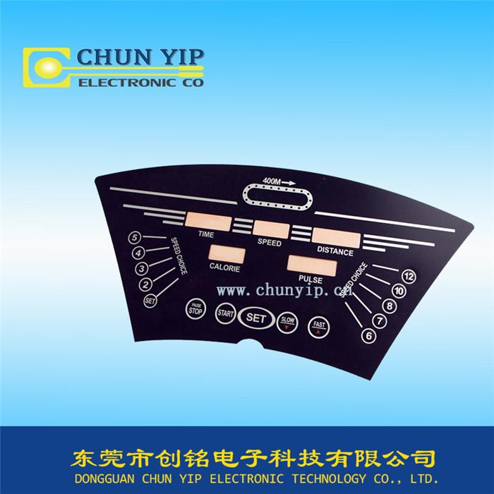 丝印薄膜开关控制面板
