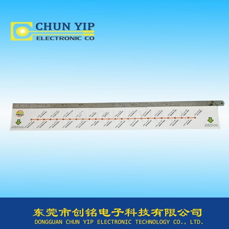 (120cm*14cm)超大型地铁薄膜面板