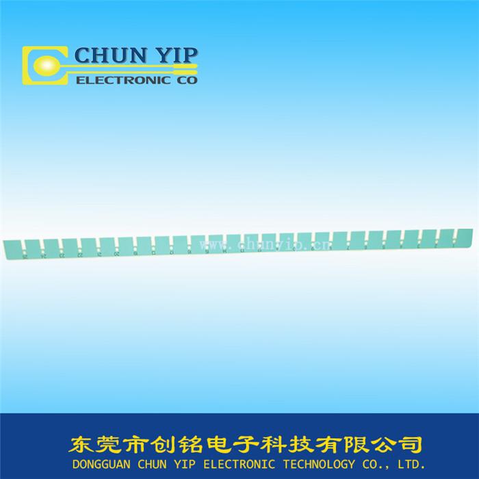 长型丝印面板