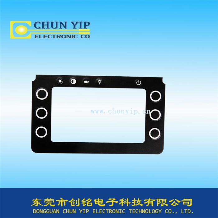硅胶类型薄膜面板