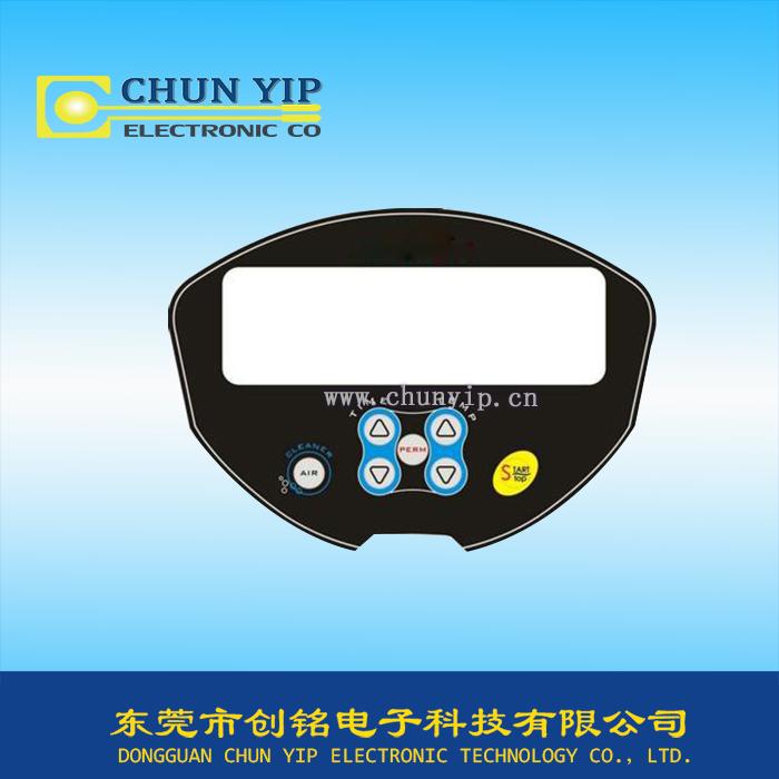 高透明视窗薄膜面板