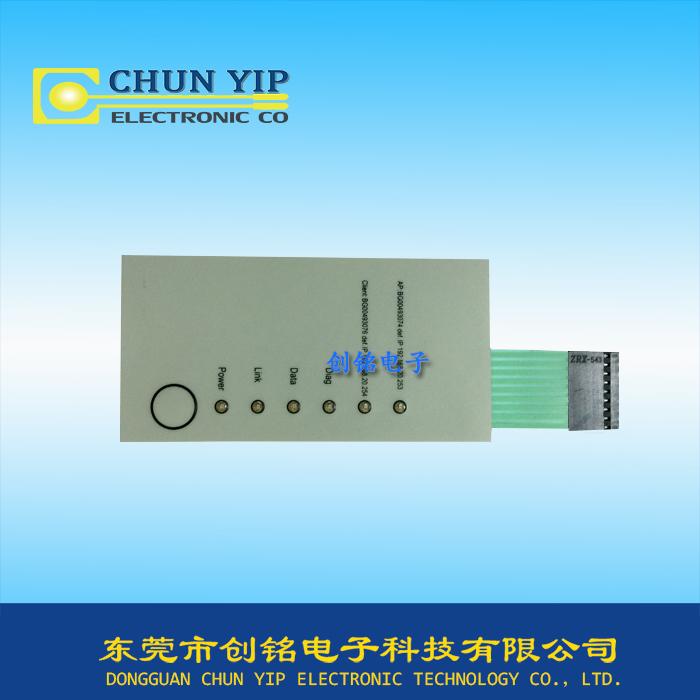 LED单按键型薄膜开关