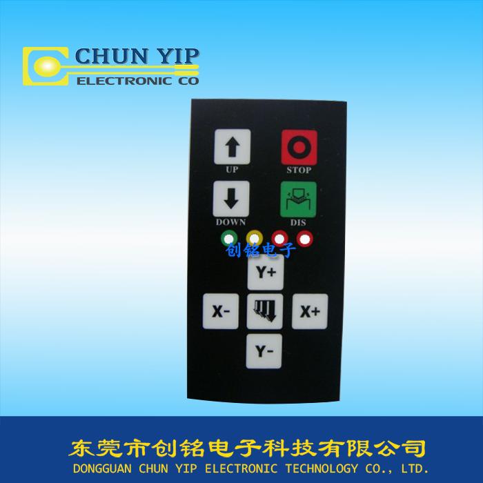 仪器按键丝印薄膜面板