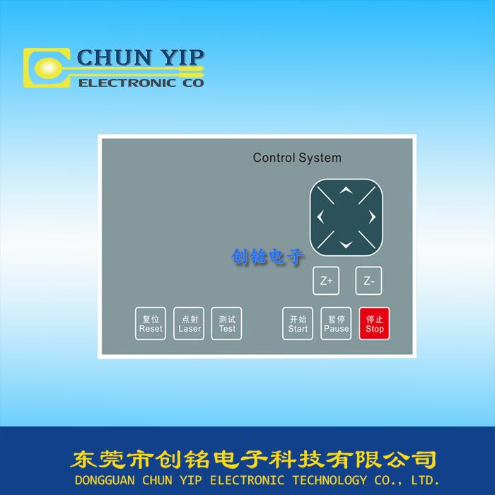 测试仪器控制薄膜面板