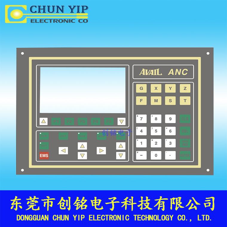 操控仪器薄膜面板